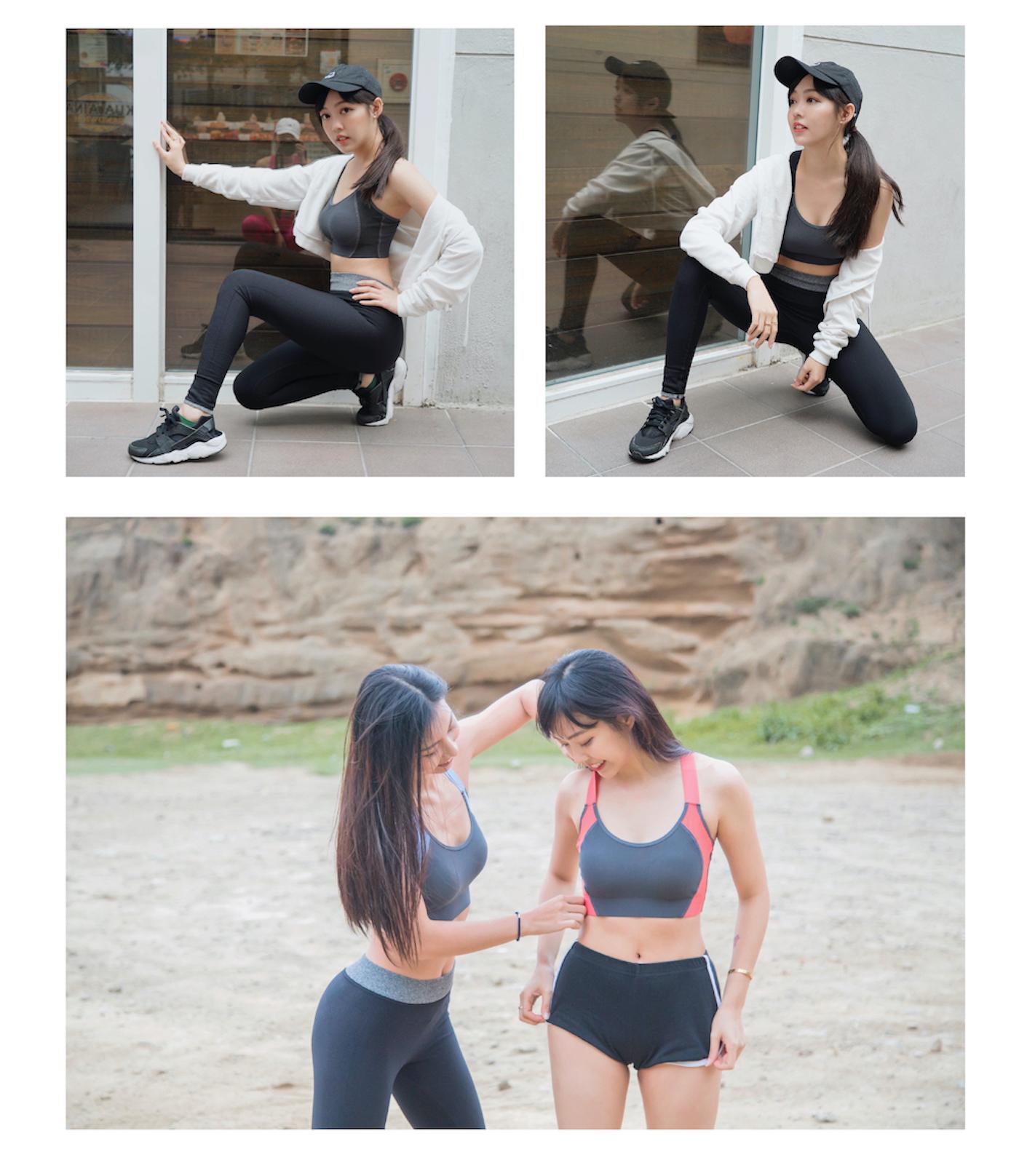 輕量美背運動內衣介紹穿搭示範